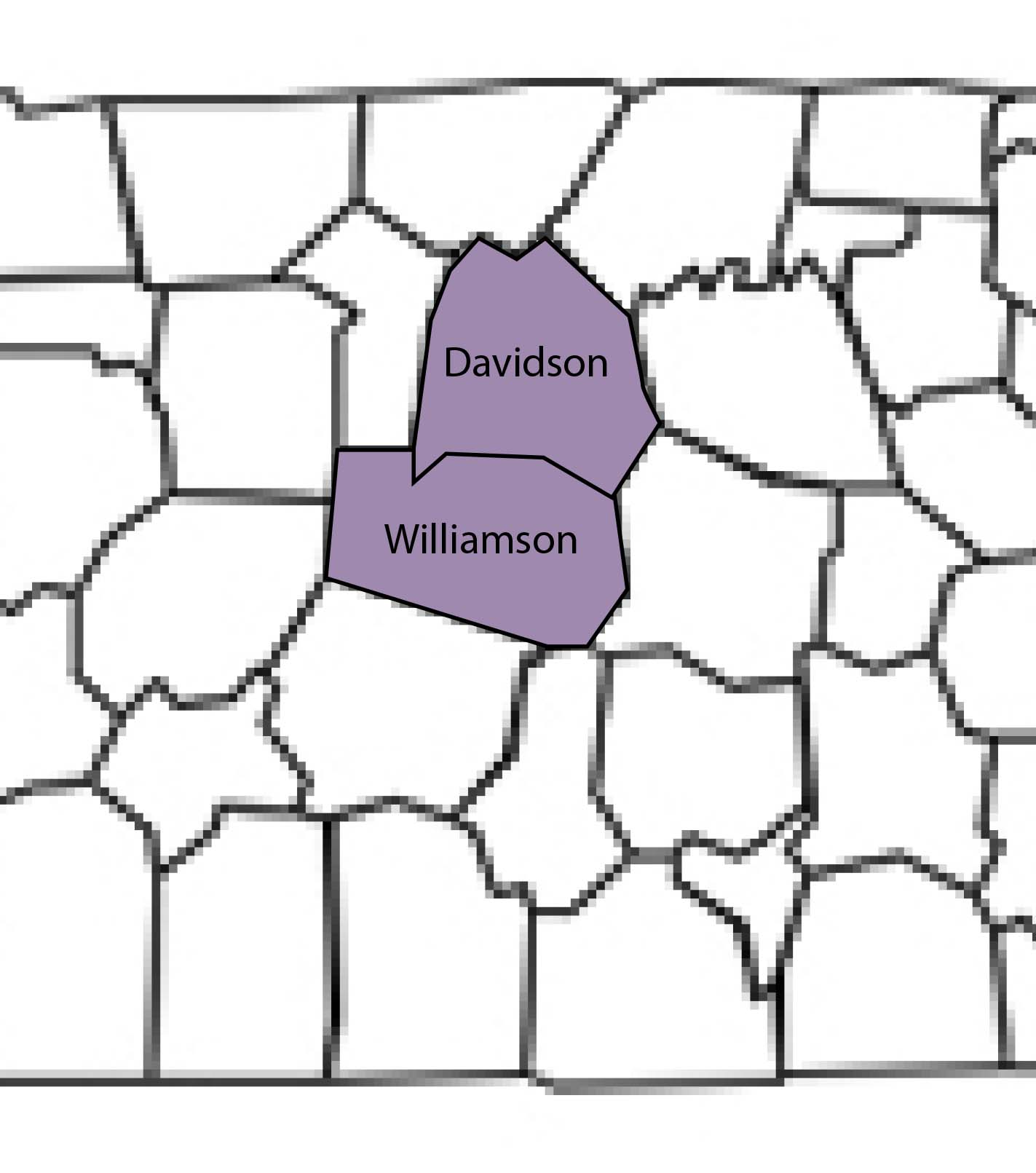 Achieve Beyond provides autism services in these counties in the state of Tennessee